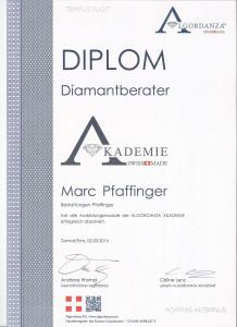 Pfaffinger_Algordanza_Diplom
