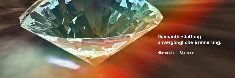 Asche Diamant Bestattung Schmuckstück